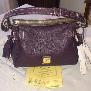 Dooney & Bourke Mini Satchel -Plum
